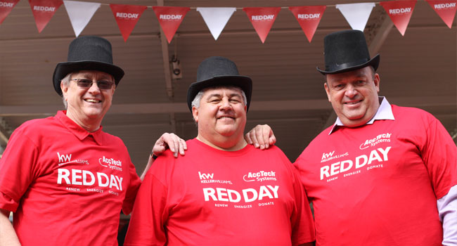KW RED Day